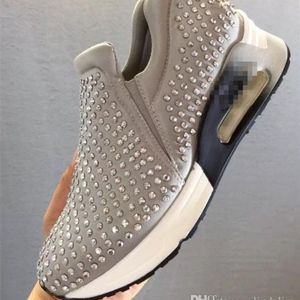 NWOB ASH LIFTING RHINESTONE SNEAKERS IN TAUPE SIZE